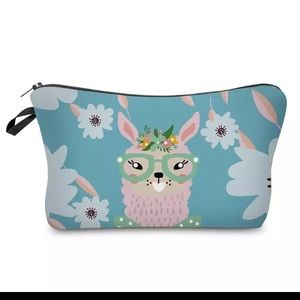 Handbags - Cute Llama Makeup Bag or Pencil Case